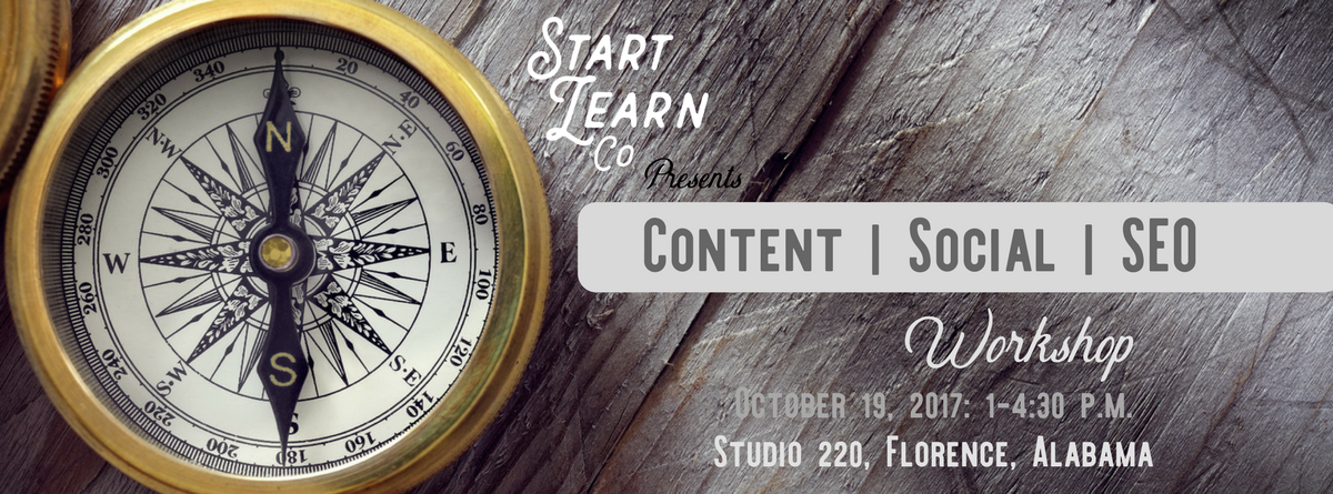 Content Marketing Workshop at Studio 220 // CANCELED