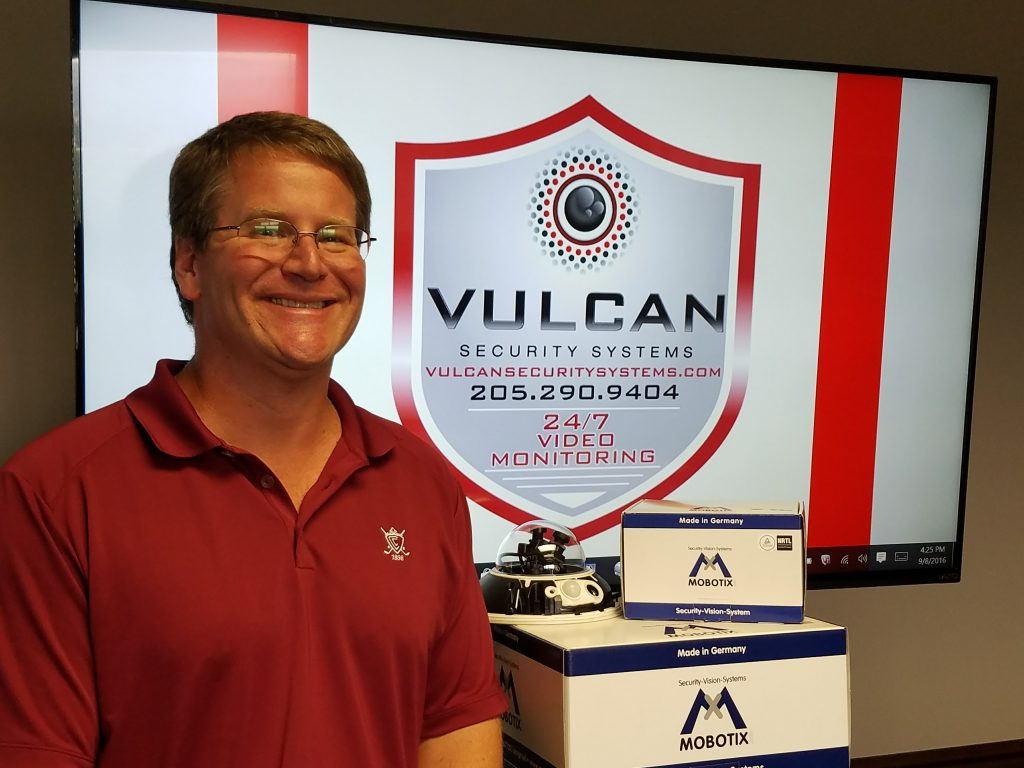 Jason Maddox, President of Vulcan Security Systems LLC, Birmingham Alabama