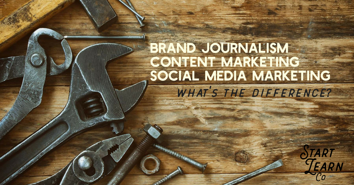 Brand Journalism, Content Marketing & Social Media Marketing